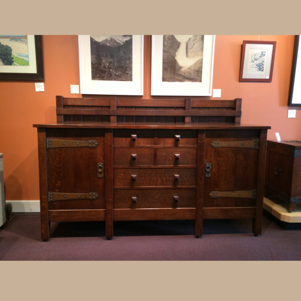 Gustav Stickley 1902 Sideboard